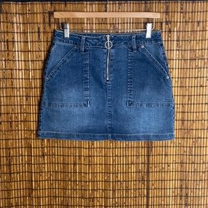 Blue Spice Denim Skirt